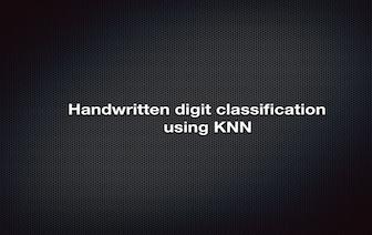 Emaraic - Handwritten digit classification using K-nearest